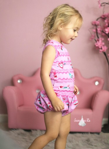 ellie and mac sunshine romper girls sewing pattern 3