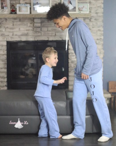 Boys Sweatpants Sewing Pattern By Ellie and Mac, Wild Wide Legs ...