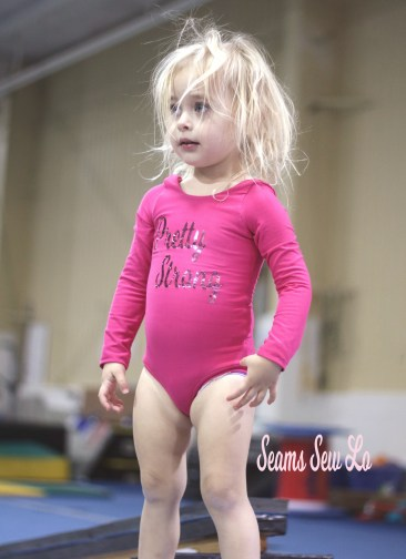 gymnastics leotard sewing pattern