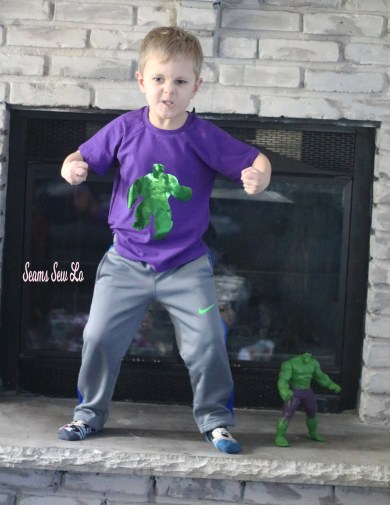 hulk svg vinyl htv foil iron on green metallic boys raglan
