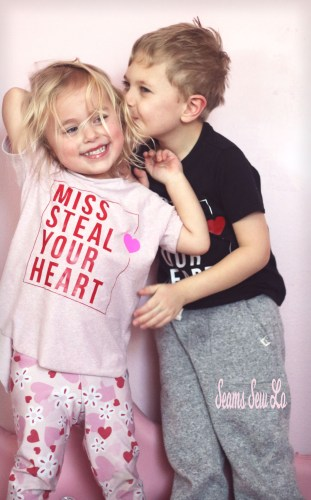 Miss Steal your Heart svg file girls valentines day shirt