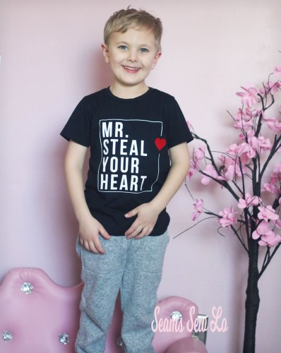 Mr Steal Your Heart SVG file free for boys