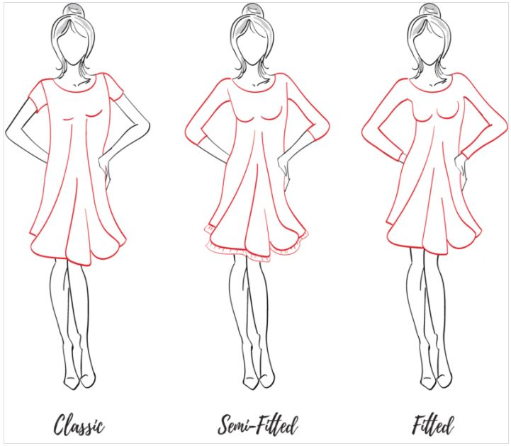 The Adalynn Dress Womens sewing pattern by Mama Can Do It