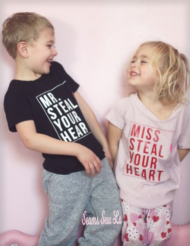 mr and miss steal your heart free svg file perfect for brother and sister