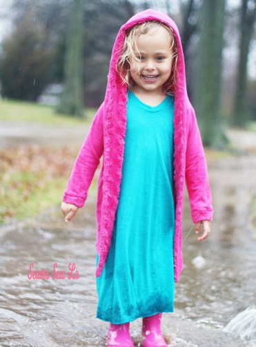 Girl's Adalynn Dress Sewing Pattern by Mama Can Do It.