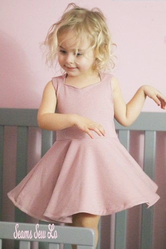 Best twirling dress sewing pattern for girls