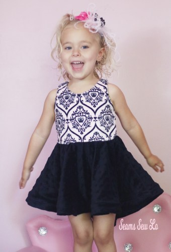 $1 Sewing Pattern Be Amazing Girls Party Dress Sewing Pattern by Ellie and Mac