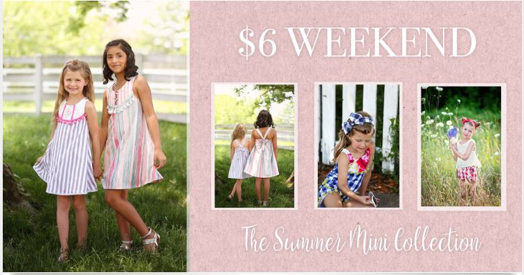 3 Patterns for only $6 this Weekend at Violette Fields Threads