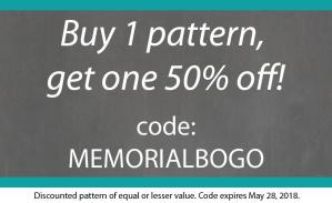 Blank Slate Sewing Patterns Memorial Day Sale