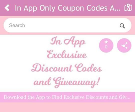 Find Exclusive Sewing Coupon Codes Sales and Giveaway on the Seams Sew Lo Sewing App
