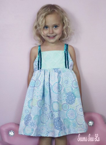 Firecracker Dress Girls Sewing Pattern 21