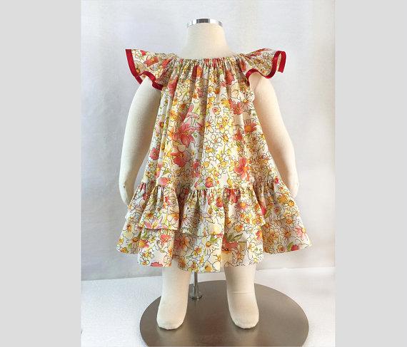 Girls Butterfly Dress Sewing Pattern Sale by Felicity Patterns