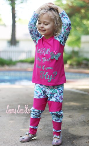 Kids Joggers Sewing Pattern by Ellie and Mac