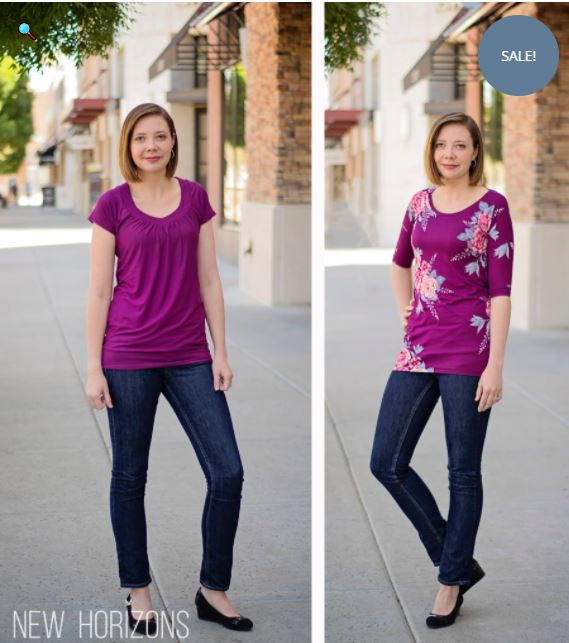 New Horizons Dolman Sewing Pattern top Release and Sale