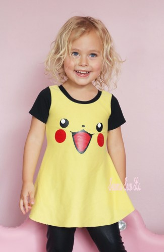 Pickachu Halloween Costume For Girls