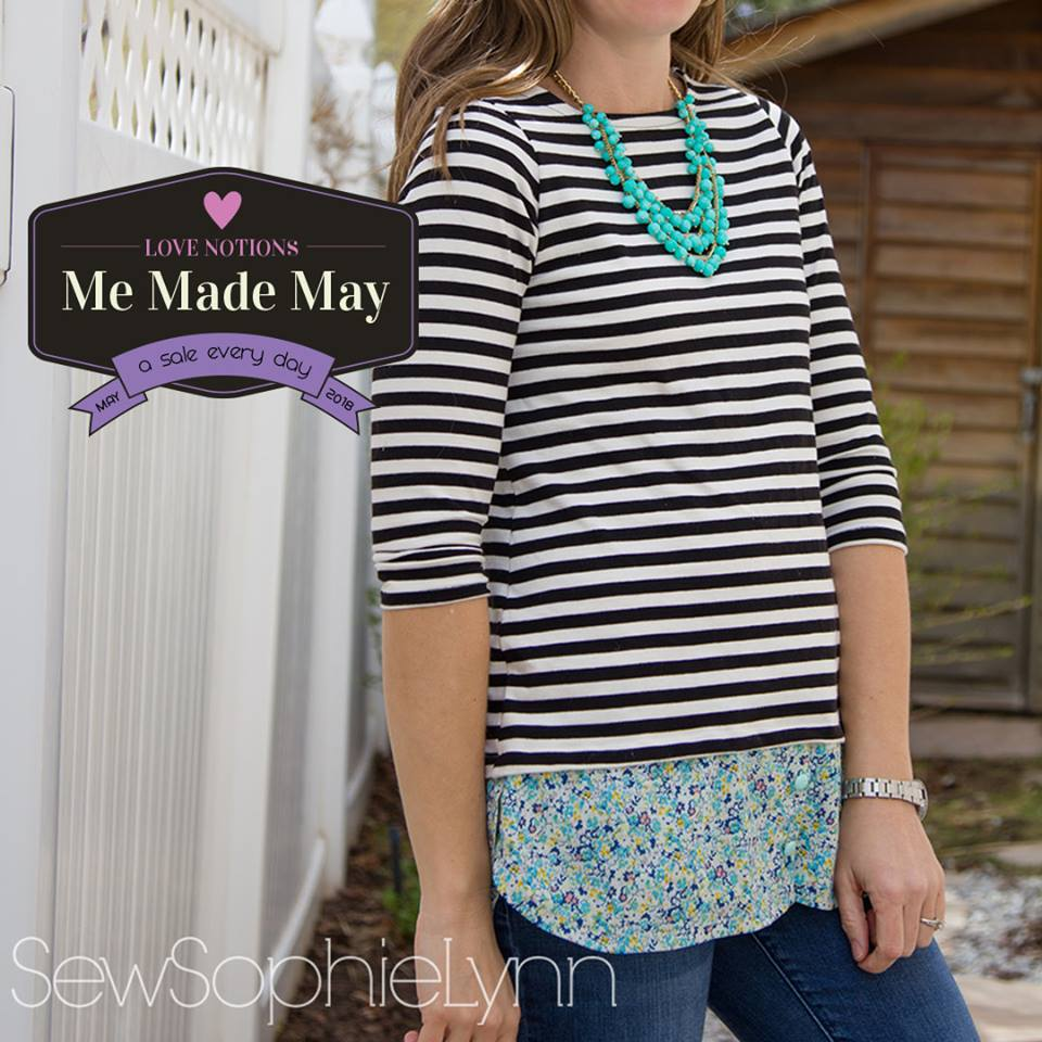 Tabitha Top Sewing Pattern Me Made May Sale at Love Notions