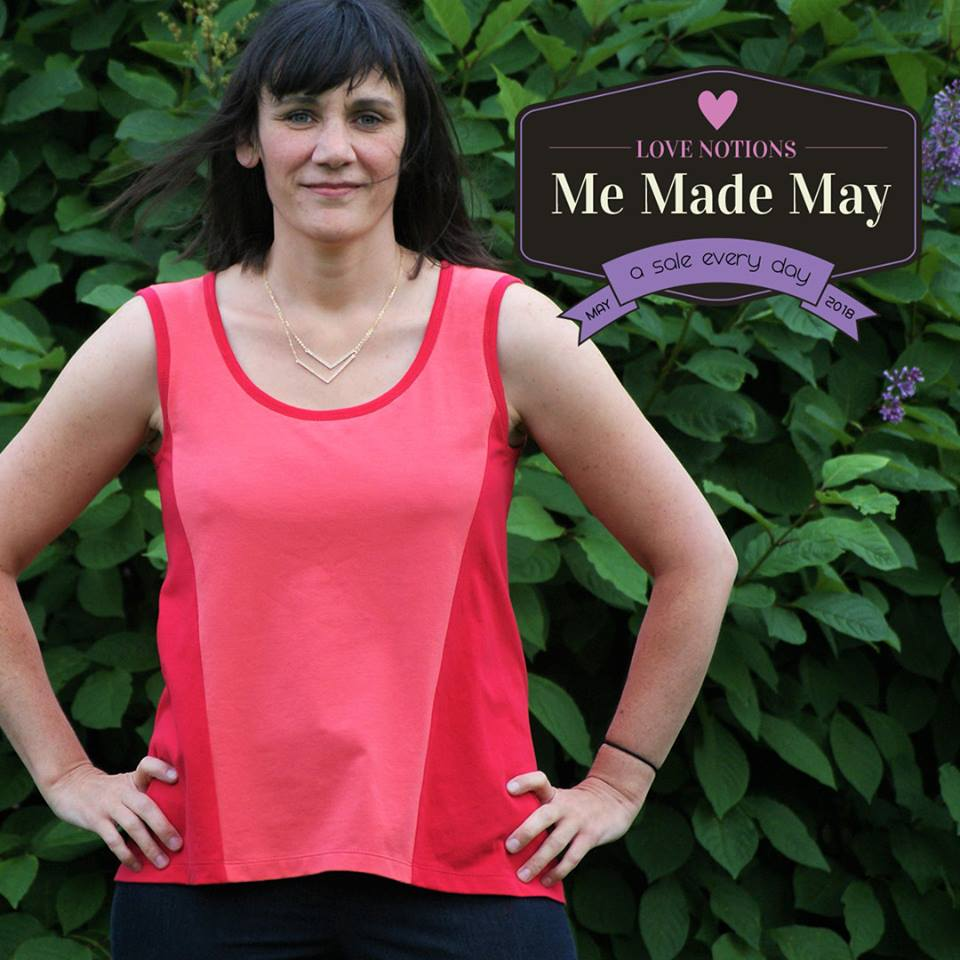 Tidal Dress and Top Sewing Pattern One day Sale by Love Notions