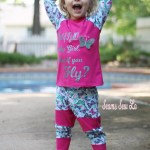 Unisex Raglan and Unisex Joggers Sewing Patterns by Ellie and Mac for kids