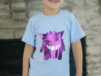 Gengar Pokemon Shirt for Boys