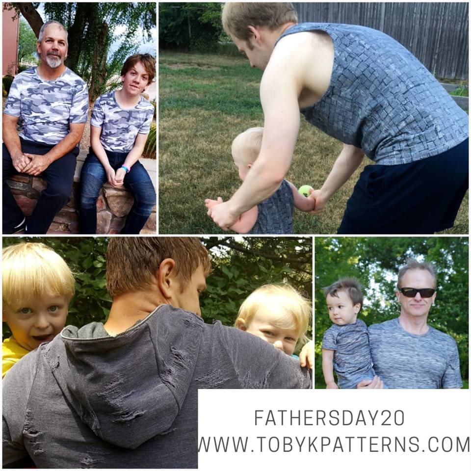 Fathers Day Sewing Patterns Sale at Toby K Patterns