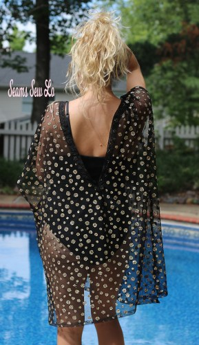 Swimsuit Cover Up Sewing Pattern