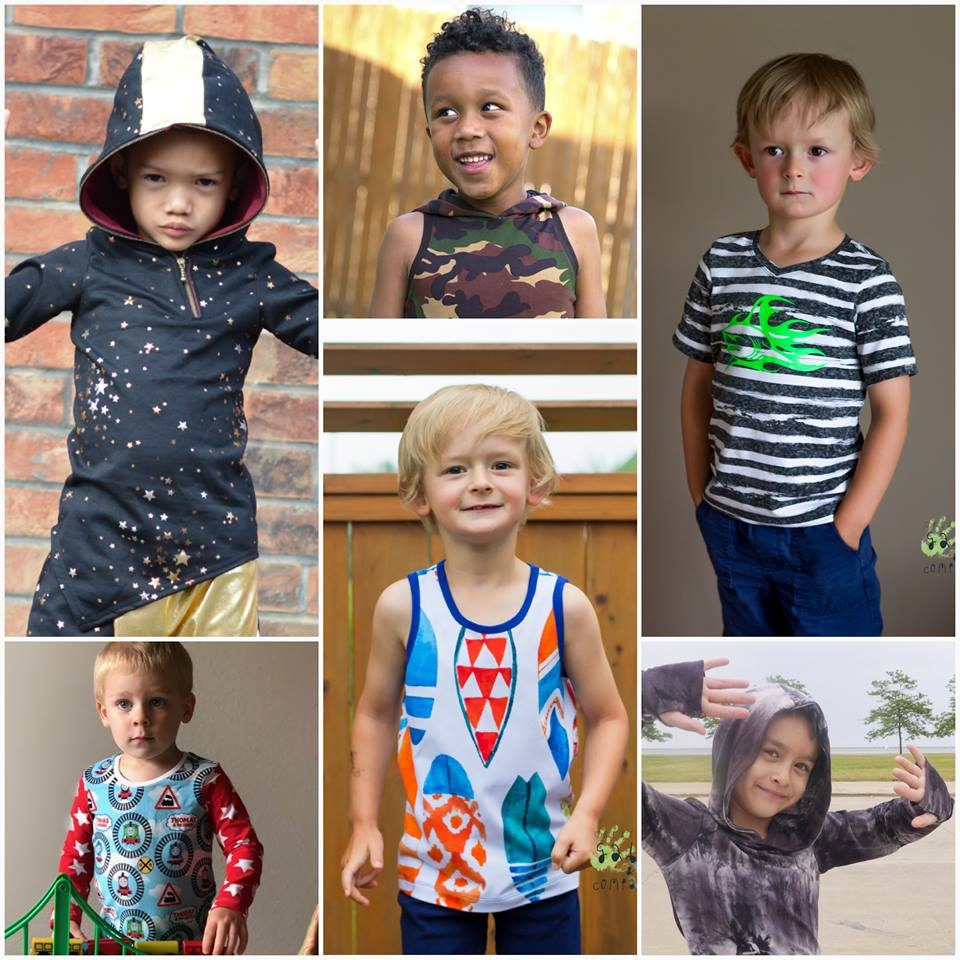 Kids Berlin Tee Sewing Pattern Release and Sale by Toby K Patterns