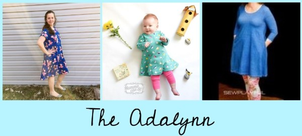 The Adalynn Sewing Pattern Sale by MCDI