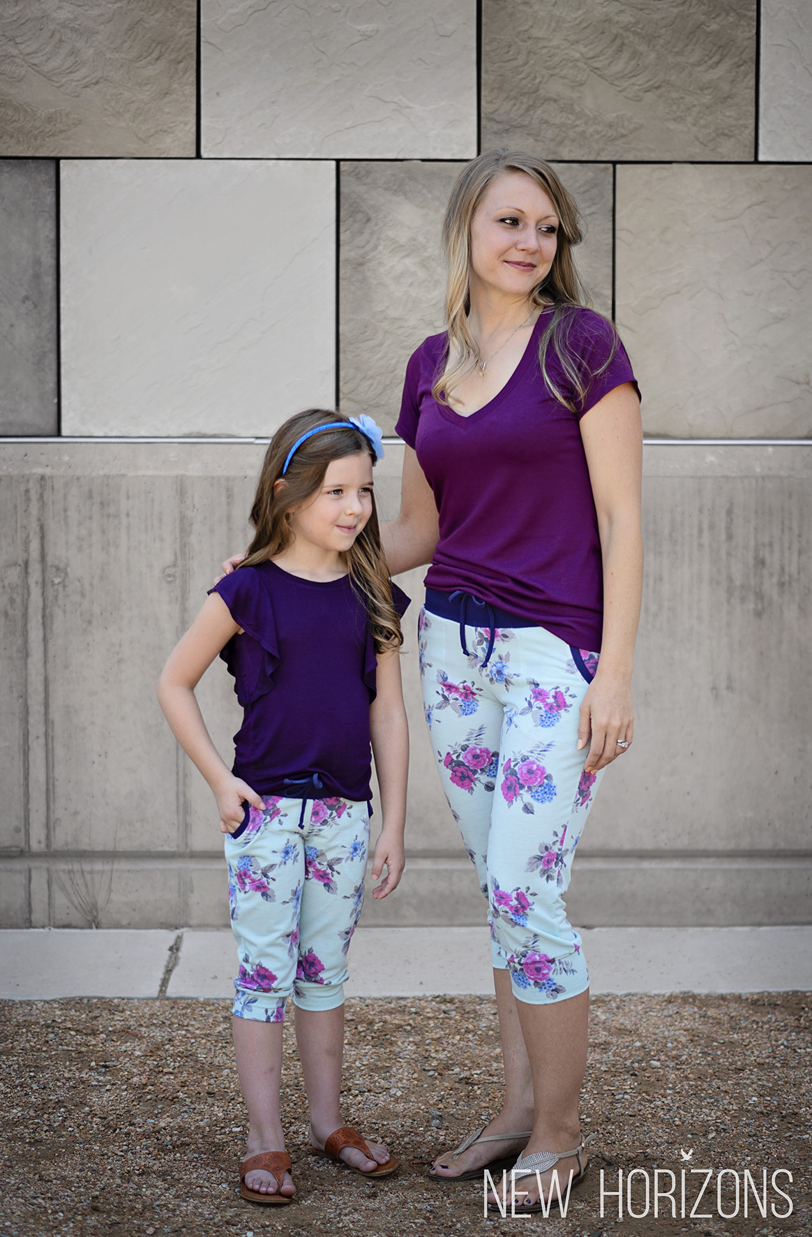 Mommy and Me Carita Joggers Sewing Pattern Release and Sale