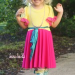 Fancy Nancy Costume DIY Sewing Pattern