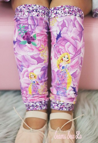 Girls Leg Warmers Sewing Pattern