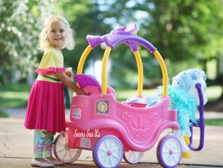 Princess Horse Carriage Ride On Toy