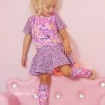 Princess Rapunzel Knit Fabric Ballet Leotard Sewing Pattern