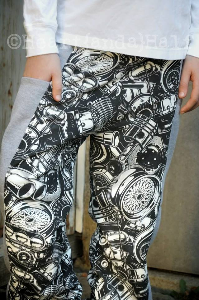 Boys Spidermonkey Pants Sewing Pattern Release and Sale by TWT