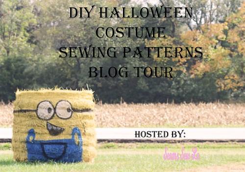 DIY Halloween Costume Sewing Pattern Blog Tour