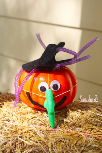 Easy Pumpkin Decorating for Kids and Toddlers Fun Witch Kit