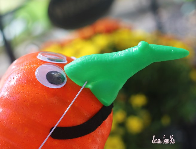 Easy Pumpkin Decorating for Kids and Toddlers Lumpy Witch Nose Kit