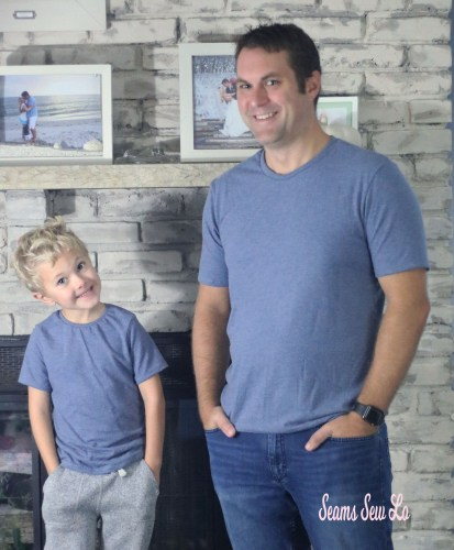 Matching Father and Son Shirt Sewing Pattern by Toby K Patterns