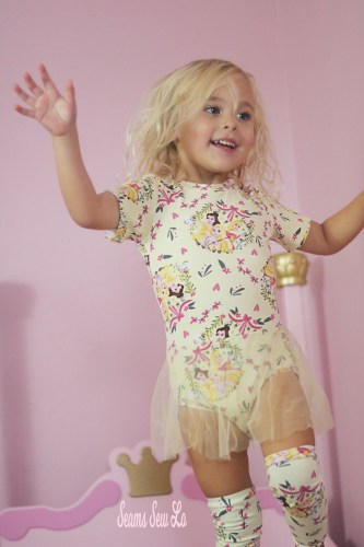 Princess Ballerina Leotard