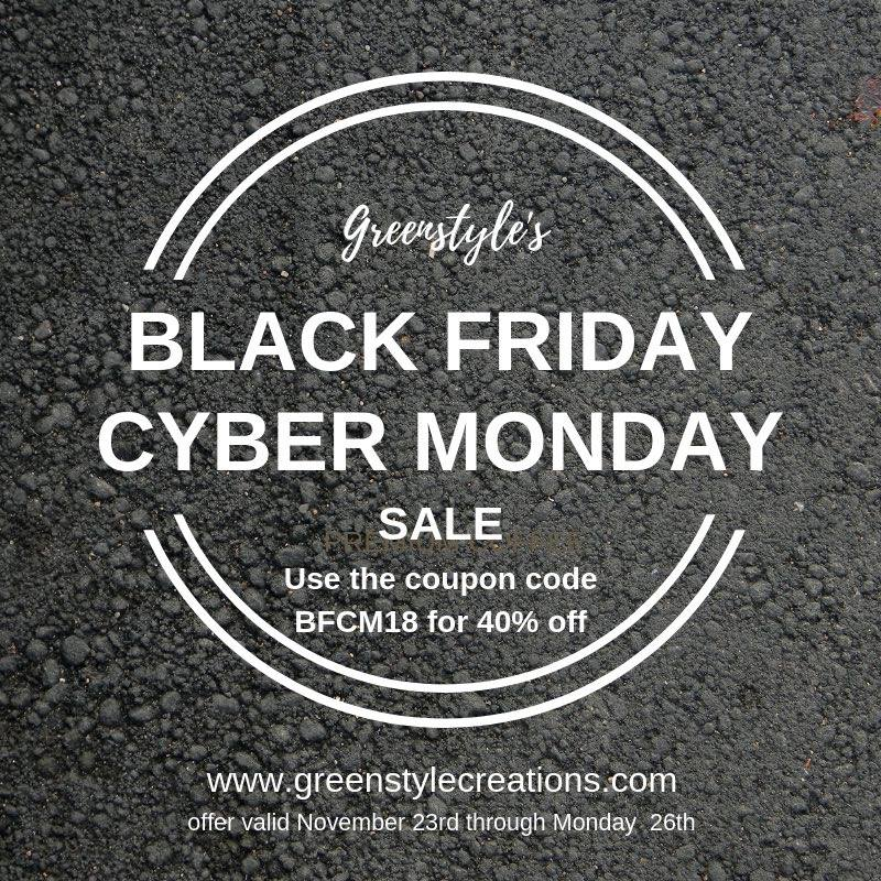 Greenstyle Creations Black Friday Sewing Pattern Sale