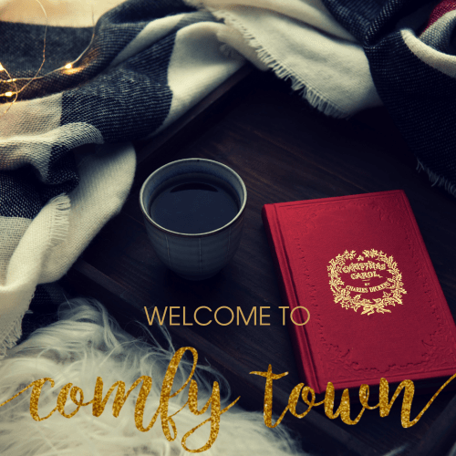 Rebecca Page Comfy Town Blog Tour