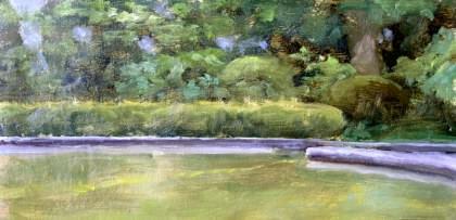 Shiroyama Koen Study Painting Seamus Berkeley