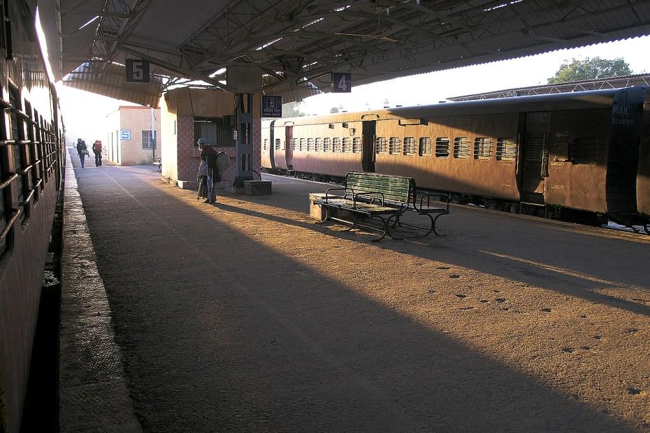 Train Station Bikaner India Photograph Seamus Berkeley