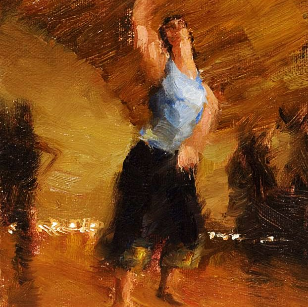 Dancing Painting Seamus Berkeley