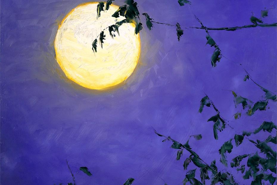 Full Moon II Painting Seamus Berkeley