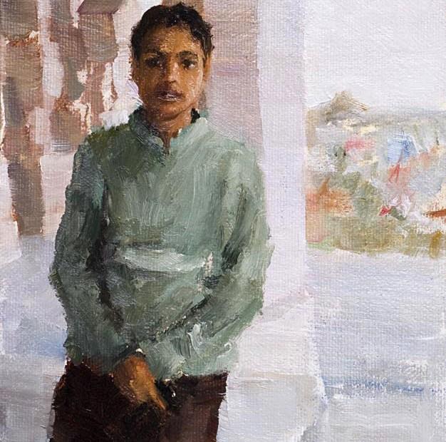 Guide Bikaner India Painting Seamus Berkeley