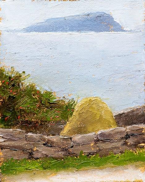 Haystack, Island Painting Seamus Berkeley