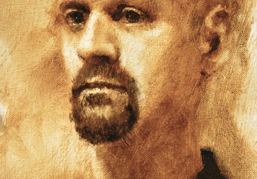 John Vias Portrait Study Painting Seamus Berkeley