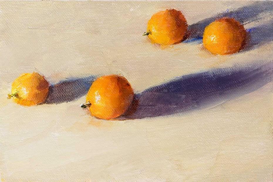 Kumquats Painting Seamus Berkeley