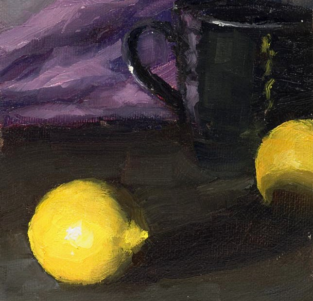 Lemons Painting Seamus Berkeley