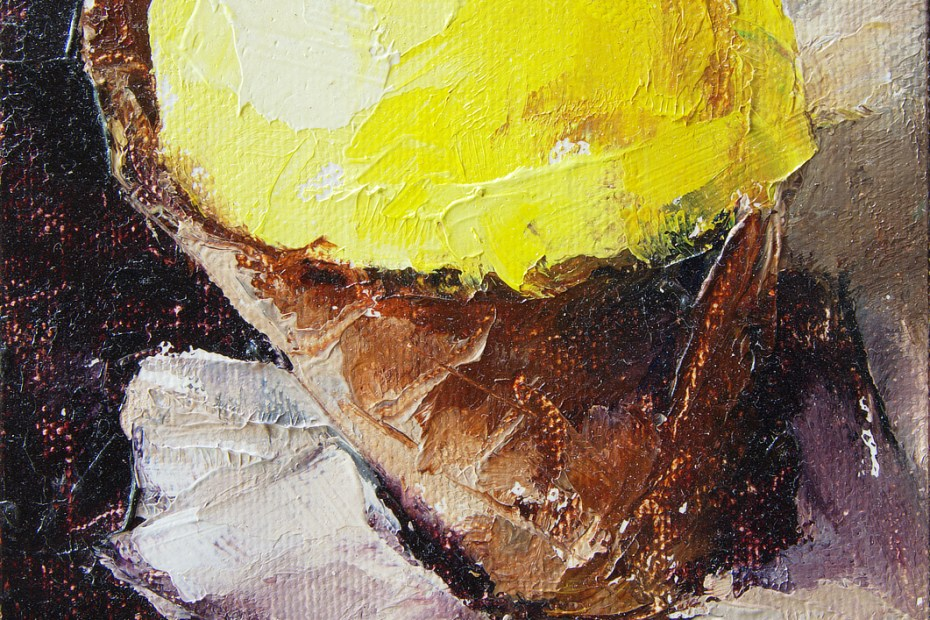 Mango Agave Sorbet Painting Seamus Berkeley